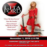 Lita Ford-Narrows Center For The Arts, Fall River, MA (Live)