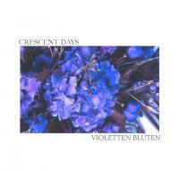 Crescent Days-Violetten Blüten