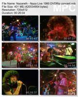 Nazareth-Naza Live (DVDRip)