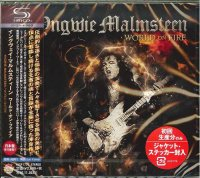 Yngwie Malmsteen-World On Fire (Japanese Edition)