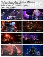 Gamma Ray-Skeletons & Majesties Live (DVDRip)