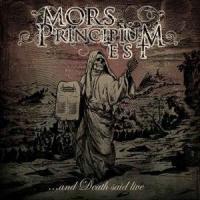 Mors Principium Est-...And Death Said Live (Japan Ed.)