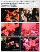 Nazareth-Live In Texas (DVDRip)