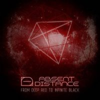 Absent Distance-From Deep Red To Infinite Black