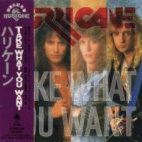 Hurricane-Take What You Want [Japan Edition]