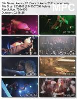 Axxis-20 Years Of Axxis (DVDRip)