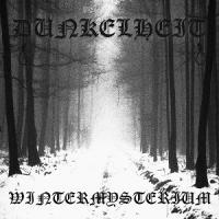 Dunkelheit-Wintermysterium
