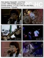 Nazareth-Live From London (DVDRip)