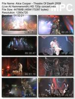 Alice Cooper-Theatre Of Death 2009 (Live At Hammersmith) (BDRip HD 720p)