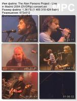 The Alan Parsons Project-Live in Madrid (DVDRip)