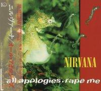 Nirvana-All Apologies. Rape Me (Japan)