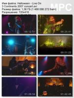 Helloween-Live On 3 Continents (DVDRip)