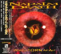 Napalm Death-Inside The Torn Apart (Japanese edition)