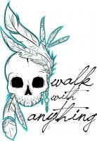 Walk With Anything-Cemetery Romance