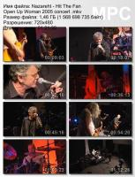 Nazareth-Hit The Fan Open Up Woman (DVDRip)