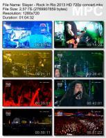 Slayer-Rock In Rio (HD 720p BDRip)