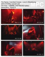 Cannibal Corpse-Live In Strasbourg (DVDRip)