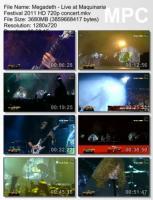 Megadeth-Live At Maquinaria Festival (HD 720p)