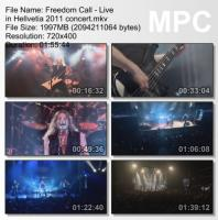 Freedom Call-Live in Hellvetia (DVDRip)