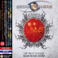 Secret Sphere-One Night In Tokyo (2CD Japanese Ed.)