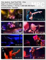 Axel Rudi Pell-One Night Live (DVDRip)