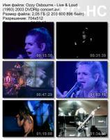 Ozzy Osbourne-Live & Loud (2003) (DVDRip)