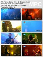 Gojira - Live @ Graspop Metal Meeting (DVDRip) mp3