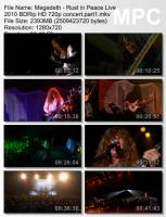Megadeth - Rust In Peace (HD 720p BDRip) mp3