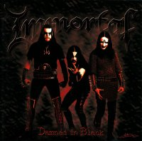 Immortal-Damned In Black