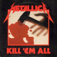 Metallica-Kill 'Em All (US WEA Mfg. Olyphant press circa '95)
