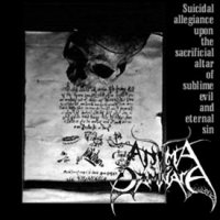 Anima Damnata-Suicidal Allegiance Upon The Sacrificial Altar Of Sublime Evil And Eternal Sin