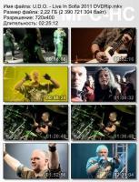 U.D.O.-Live In Sofia (DVDRip)
