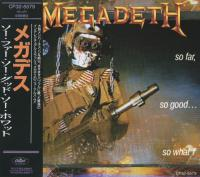 Megadeth - So Far, So Good... So What! mp3