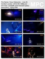 Ozzy Osbourne-Live At Ozzfest London (HD 1080p BDRip)