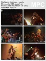 Helloween-Live In Minneapolis (DVDRip)