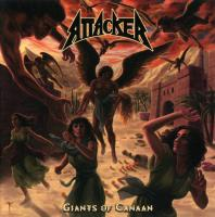 Attacker - Giants Of Canaan (Argentina reissue 2017) flac cd cover flac