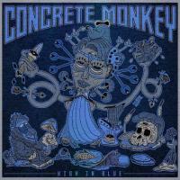 Concrete Monkey-High In Blue