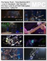Rush - Time Machine : Live in Cleveland (HD 720p ) mp3