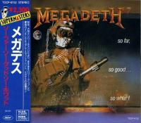 Megadeth - So Far, So Good... So What! (2-nd japanese '91) flac cd cover flac