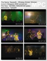 Nazareth - Whiskey Drinkin' Woman (Live in Glasgow) (2002) (DVDRip) mp3