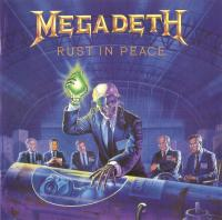 Megadeth - Rust In Peace (UK original) flac cd cover flac