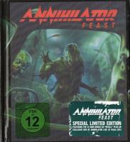 Annihilator - Feast (Ecobook, reissue 2014) flac cd cover flac