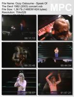 Ozzy Osbourne-Speak Of The Devil 1982 (DVDRip)