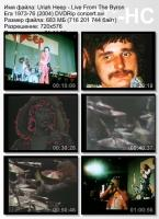 Uriah Heep-Live From The Byron Era 1973-76 (DVDRip)
