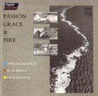 Paco de Lucía, Al Di Meola & John McLaughlin-Passion, Grace & Fire (W.German Polygram press '84)
