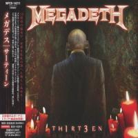 Megadeth - Th1rt3en [Japan Edit.] flac cd cover flac