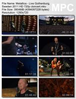 Metallica-Live Gothenburg, Sweden (HD 720p BDRip )