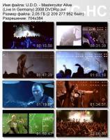 U.D.O.-Mastercutor Alive (DVDRip)