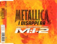 Metallica-I Disappear (Maxi-single european press)