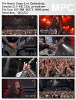 Slayer-Live Gothenburg, Sweden (HDTVRip)